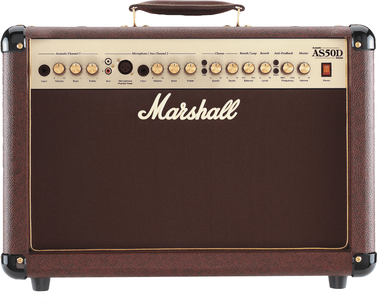 MARSHALL - MMA AS50D - Accoustic guitar amp 50w combo